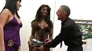 Gang banged by sensual transsexuals Vol. 2