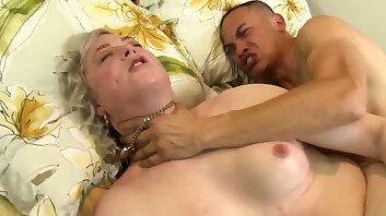 Rimmed shemale gets fucked and spermed